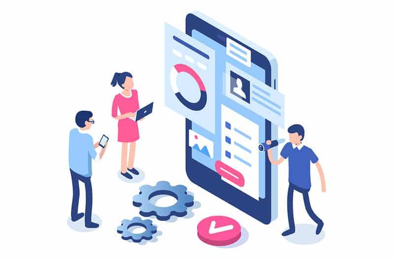 Web consultation illustration