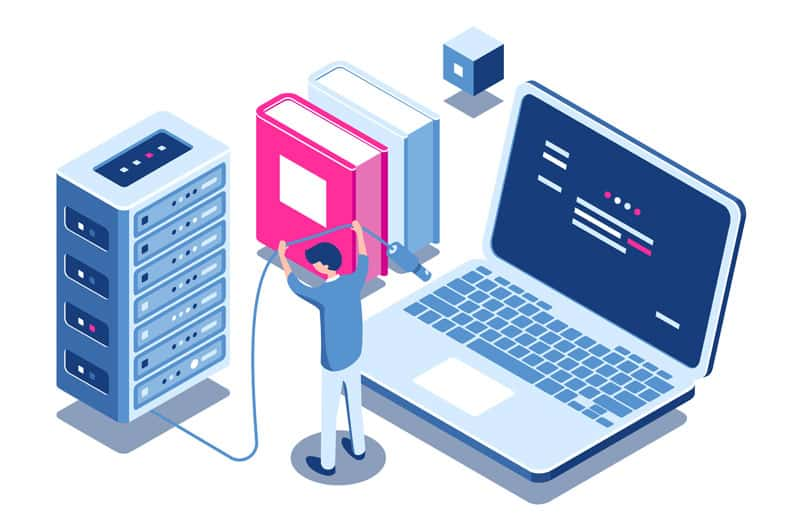 IT Support illustration